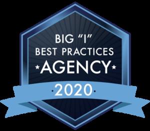 Award - 2020 Big I Best Practices Agency